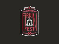 Arkansas Times Firkin Fest Logo