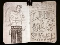 A snake in my pocket