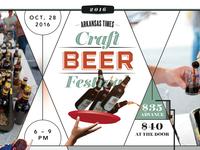 Arkansas Times Craft Beer Fest Poster 1