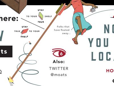 Detail of some self promotion #1 illustration design self promotion books