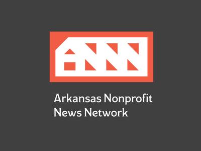 ANNN logo modesto genius network little rock not for profit nonprofit arkansas grey orange news logo