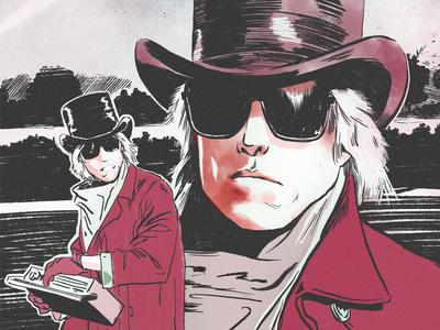 Tom Petty inktober tribute illustration tom petty
