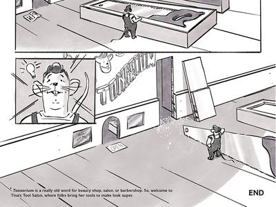 The Saw, a Bash-O-Bash comic salon mouse bash-o-bash comic