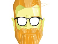 Beard Growing Contest Illustration