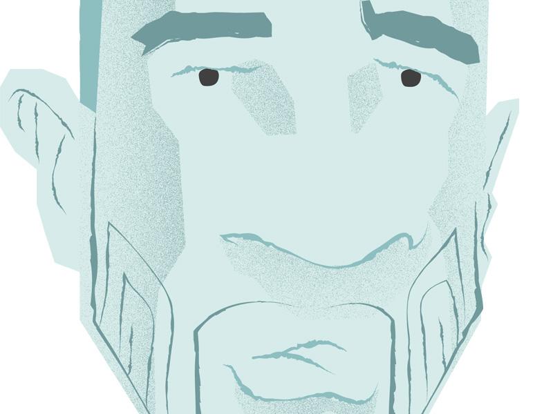 Beard 4 in Progress beards arkansas illustration