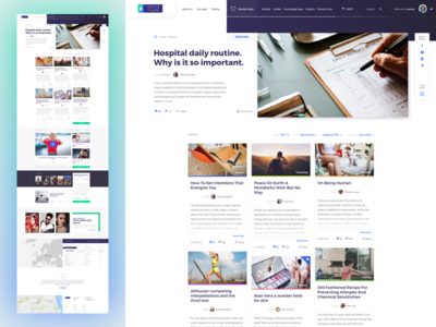 TDZ guides blog list sketch article news concept design app ux ui