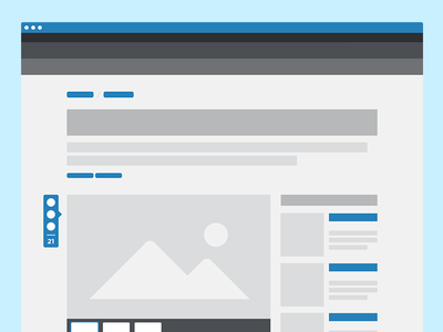 Wireframes wireframe web editorial layout