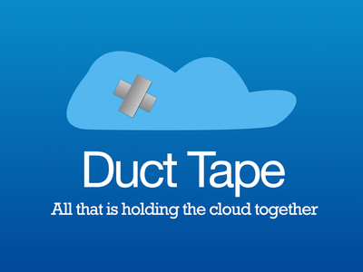 It's funny because it's true cloud illustration