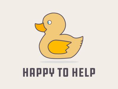 Rubber Duck T-Shirt Idea rubber duck debugging vector illustration