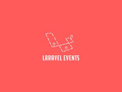Laravel Events Logo Exploration logo laravel