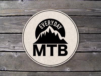 Everyday MTB Coaster illustration coaster