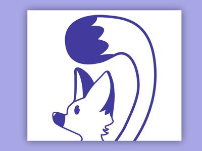 Perky Fox vector fox illustration