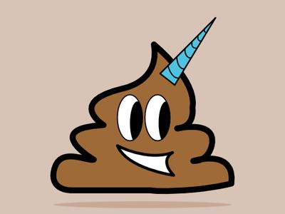 poopacorn affinitydesigner vector illustration