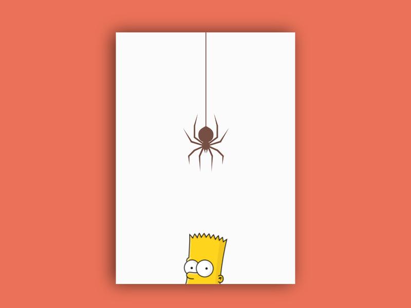 Spider Bart vector affinitydesigner illustration