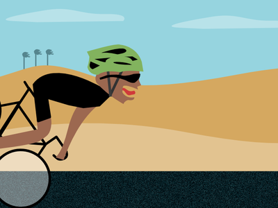 Bike Crash comic affinitydesigner vector illustration