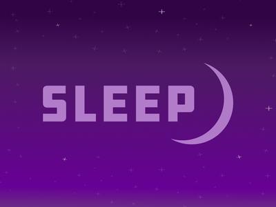 Sleep moon stars affinitydesigner illustration night sleep