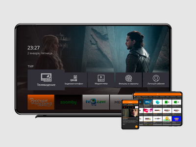TV App design ui dailyui tv app tv