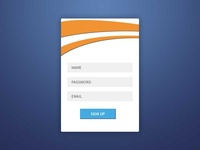 Daily UI - 001 Signup