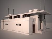 Frank Lloyd Wright Boathouse