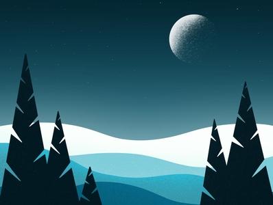 Night ✨ design gallery galshir illustrator artist art digitalart illustration dribbble procreate