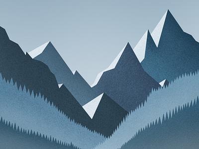 Winter gallery dribbble design galshir art illustrator illustration digitalart artist procreate
