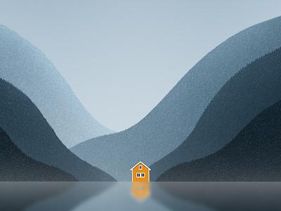 Norway gallery dribbble design galshir art illustrator illustration digitalart artist procreate