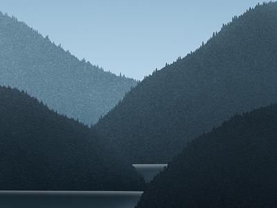 Fjords dribbble gallery galshir design art illustrator digitalart artist procreate illustration norway