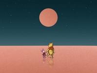 Winnie The Pooh colorful dribbble galshir design art illustrator illustration digitalart artist procreate winnie the pooh