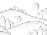 Autumn autumn leaves mountains mountain autumn art illustrator illustration digitalart artist procreate