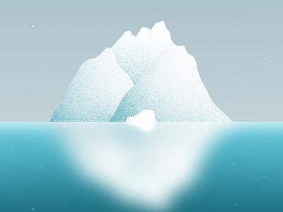 Sleepy polar bear dribbble procreate artist illustration digitalart polarbear