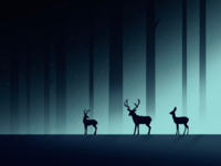 Deer in the forest 🦌