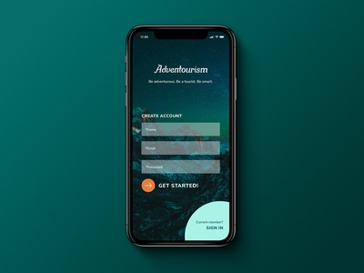 Daily UI |  #001  |  Sign Up