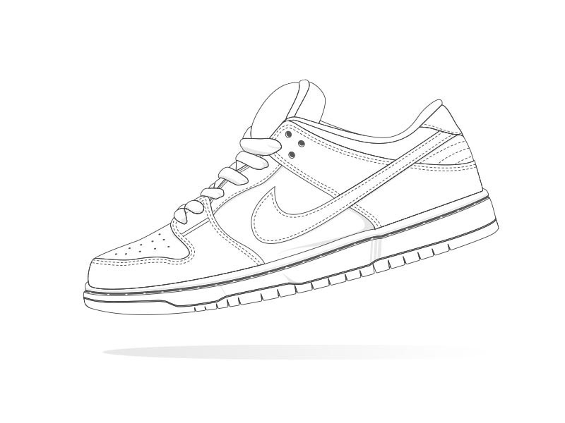 outlet store dd7f8 89841 ... new zealand nike sb dunk low by ken osh tan dribbble 44814 041f2