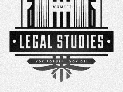 Legal Studies Org logo illustration legal law org club lyceum
