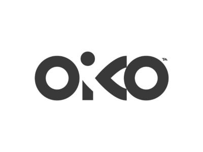 Oiko ico realestate branding identity typeface lettering logotipo logotype logo