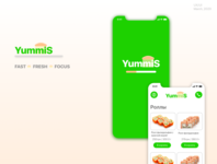 YummiS. Delivery food app