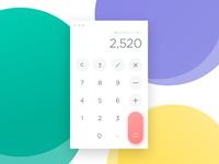 Day 004 - Calculator - Daily UI