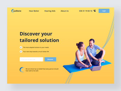 Landing Page_UI Challenge design ui