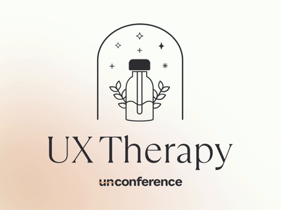 Dribbble UXUnConf therapy conference design conference