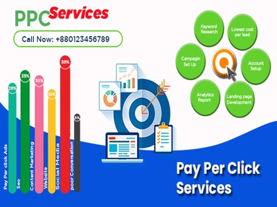 PPC services web banner