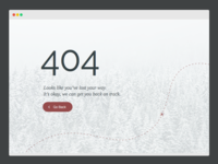 UI Challenge Day 8 - 404 Page
