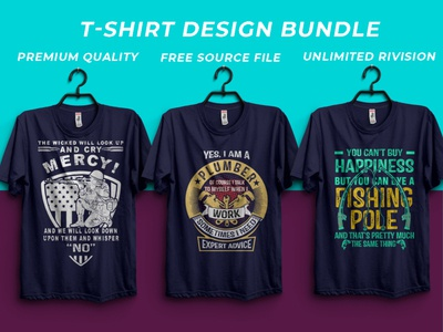T-shirts design bundle