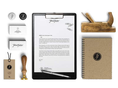 Fabian Fischer Handcrafts brand identity