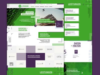 Website for an IT consultancy it consultancy ux opposite responsive pattern website
