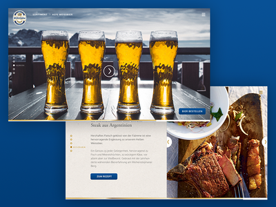 Weihenstephaner weihenstephaner storytelling fullscreen responsive brewery website beer