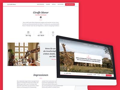 Fineway casestudy fineway giraffe travel ux responsive ui website