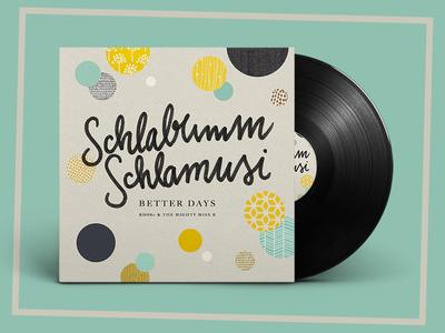 RDO80 mixtape cover: Schlabumm Schlamusi graphic design typography illustration cover mixtape music