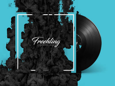 RDO80 mixtape cover: Freehling in dei Gsicht, Brudi! lettering organic cover typography graphic design music mixtape