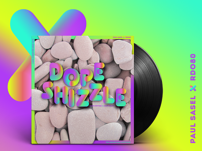 RDO80 mixtape cover typography rdo80 mixtape music