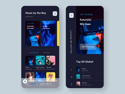 Music App UI Design music app design music app ui musician player ui song ui song app music app music player android app ios design ios app app music